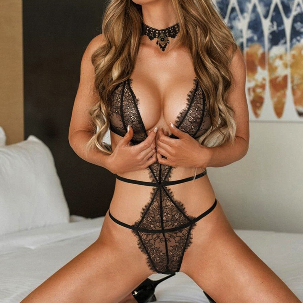 Hollow Out Lace Sexy Lingerie